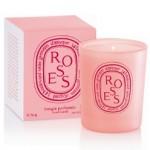 Bougies Saint Valentin – Mini bougie rose Dyptique
