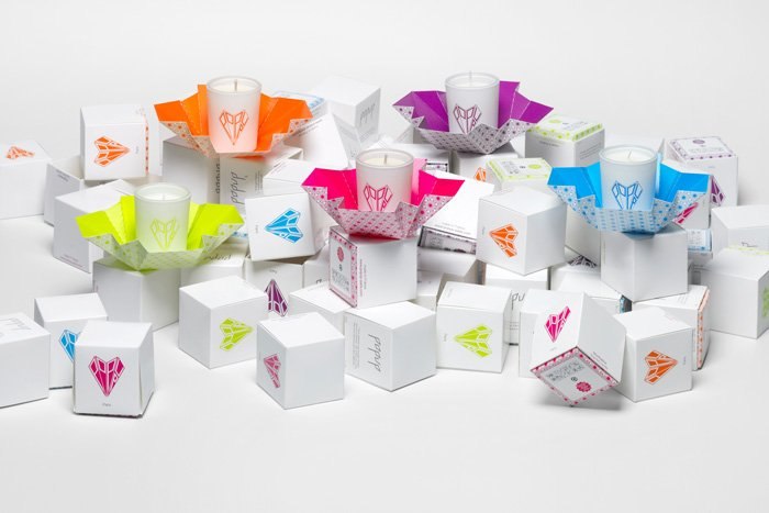 Bougies parfumées Popup Paris