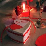 Bougie déco pour une table de St Valentin réussie !