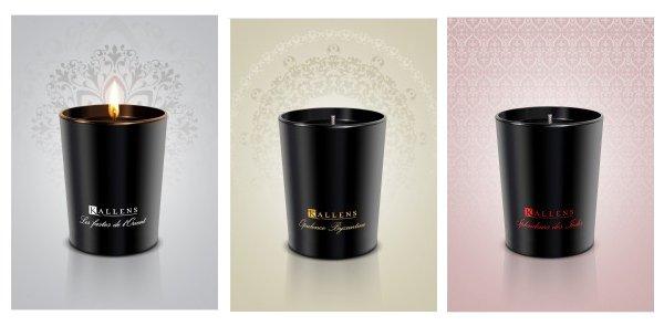 Bougies parfumées Kallens