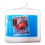 Bougies personnalisées avec photos