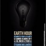 Earth Hour : 1 heure sans lumière = 1 heure avec bougies ?