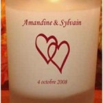 Bougies de mariage pour les invités : une idée originale !
