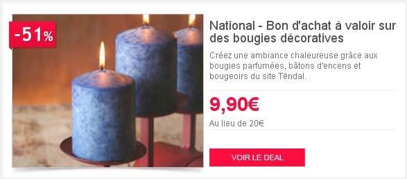 Deals bougie Tendal