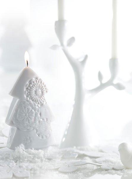 Bougie déco Bougie La Française Féerie Noël