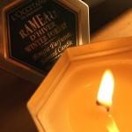 Concentration de parfum dans les bougies