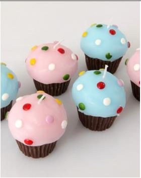 Bougies Muffins d'Amadeus
