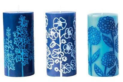 bougies-bleue-ikea