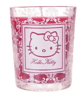bougie parfumée hello kitty