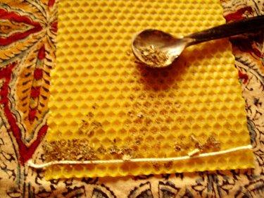 bougie-cire-abeille
