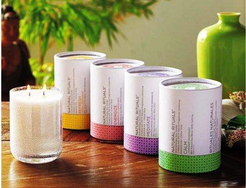 bougie partylite aromathérapie