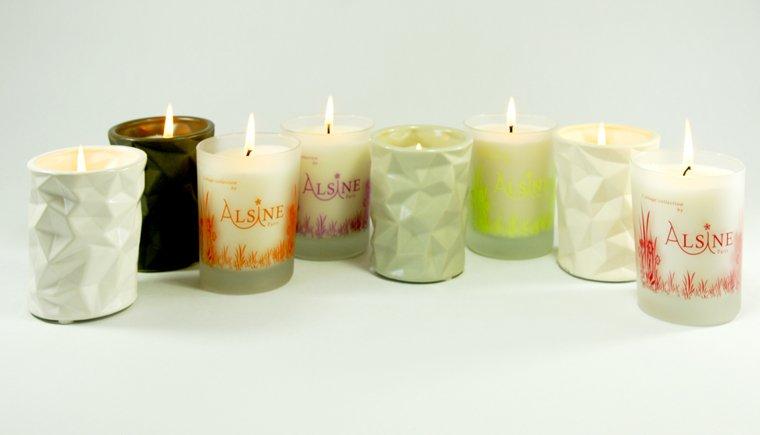 bougies parfumées alsine paris