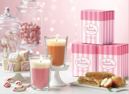 """Bougies """"Just Desserts"""" by Partylite"""