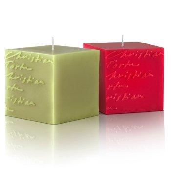 Bougies carrées Christian Tortu